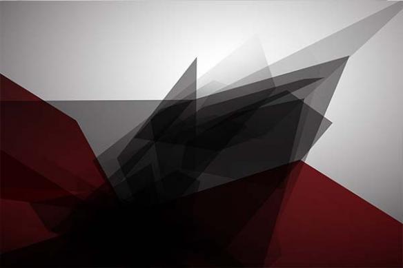 Tableau decoration design tungstène rouge