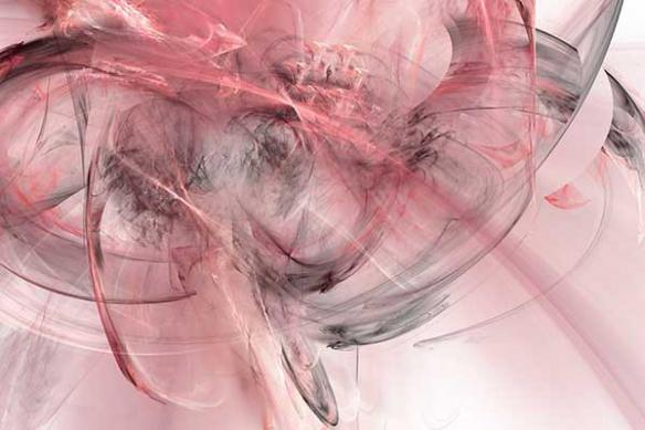 ellipse déco murale plume