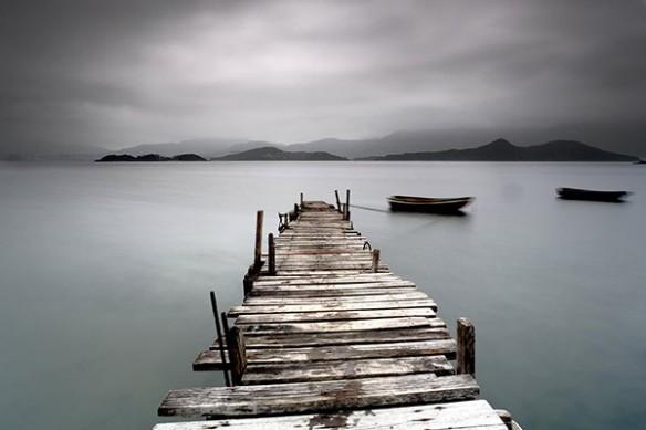 Tableau zen Lac Halslon
