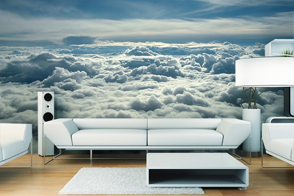 papier peint photo ballons de nuages izoa. Black Bedroom Furniture Sets. Home Design Ideas