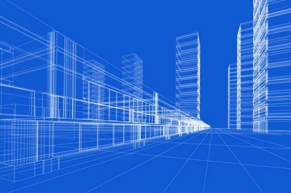 Architecture tableau immeuble design