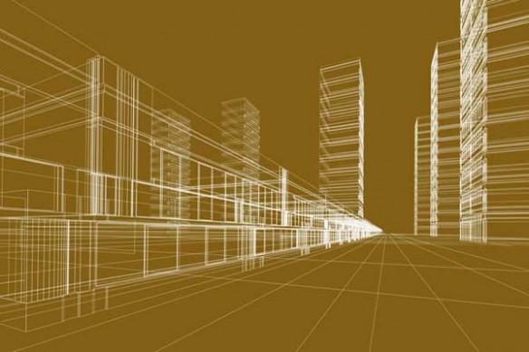 Architecture deco murale immeubles