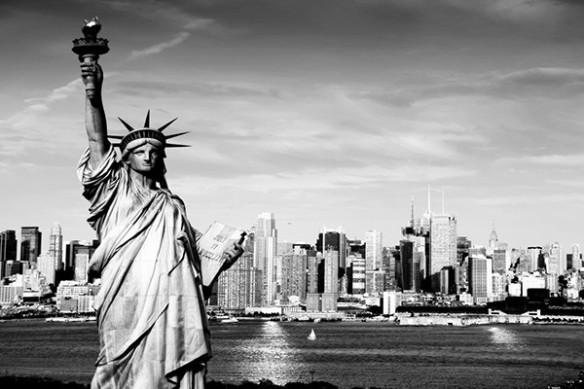 déco mur New York Liberty