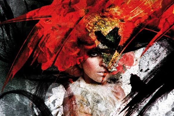 Lady Gaga Tableau moderne déco