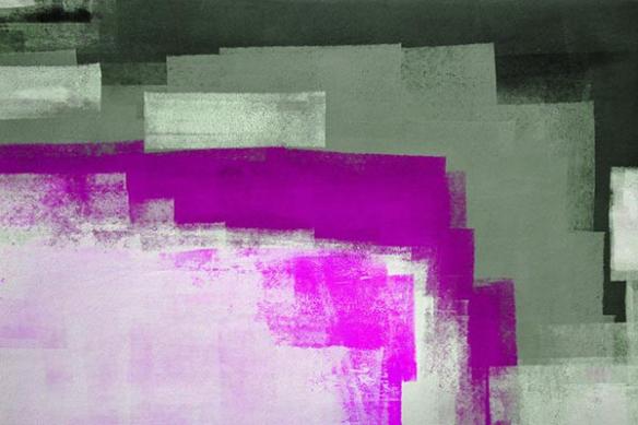tableau abstrait Nuage Dansant
