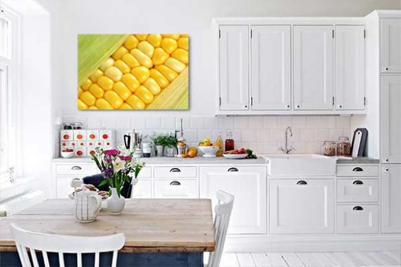 Tableau décoration murale épi de maïs