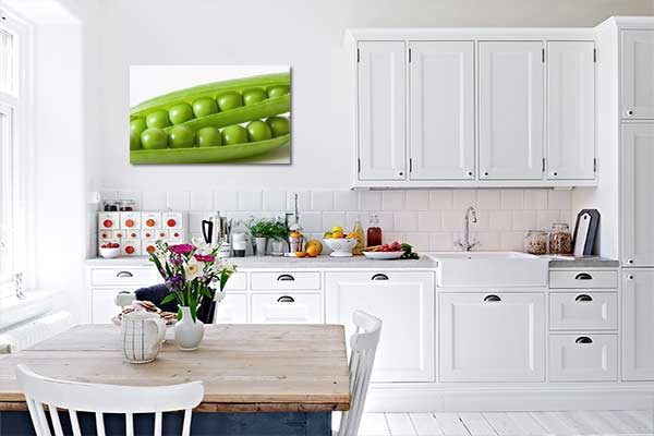 tableau contemporain design pois izoa. Black Bedroom Furniture Sets. Home Design Ideas