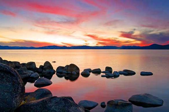 Lac Tahoe zen