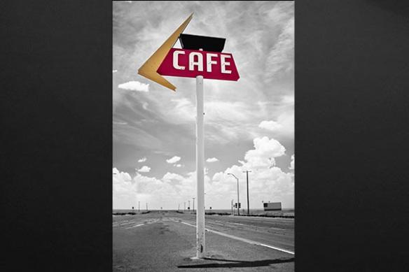 panneau Café tableau art contemporain