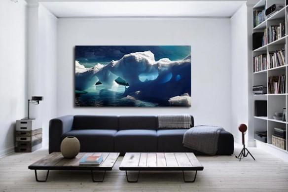 Tableau moderne Pole nord