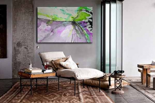 Tableau contemporain mural Diapason