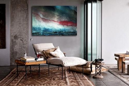 Toile décoration Design Icare