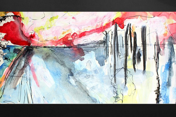 tableau contemporain Pacha
