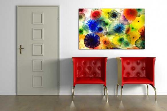 Deco murale couleur