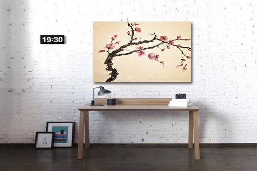 Tableau Deco Arbre Fleurs