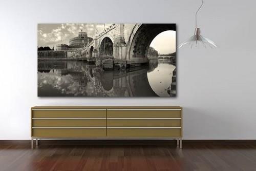 Tableau déco murale Pont de Rome