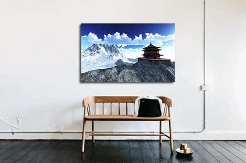 Tableau zen décor japonais