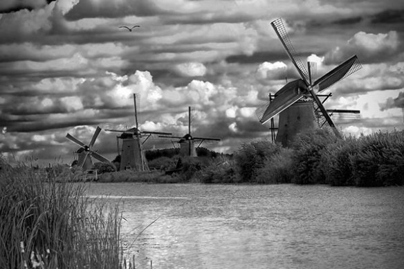 4 moulins Pays bas