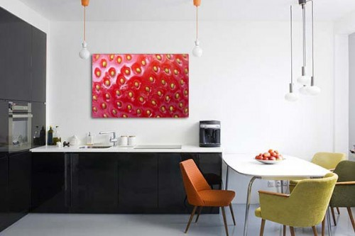 D coration murale cuisine design for Decoration murale geante new york