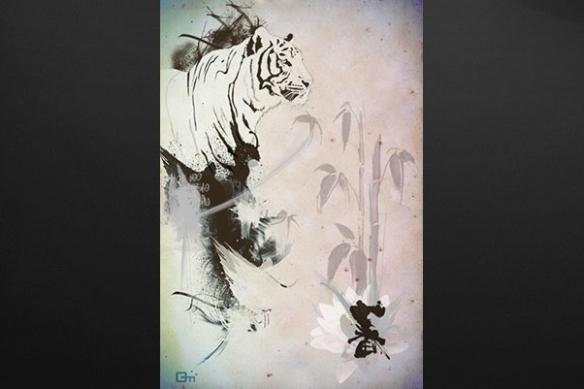 grand Tigre bengale