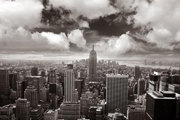 Papier Peint déco Gratte ciel New York