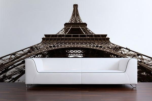 papier peint paris tour eiffel. Black Bedroom Furniture Sets. Home Design Ideas