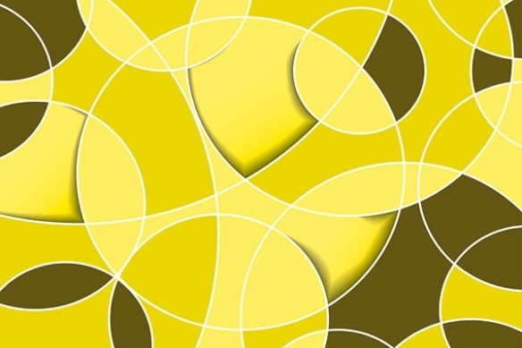 toile deco abstrait design Consentrique