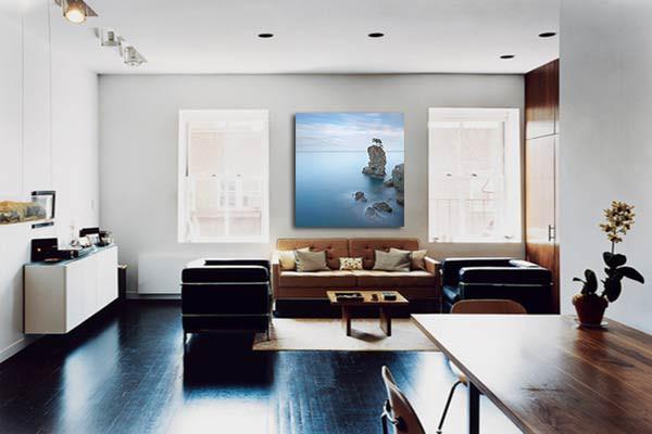 tableau d coratif bord de mer izoa. Black Bedroom Furniture Sets. Home Design Ideas