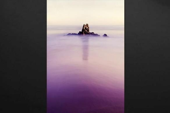 tableau mer romantique