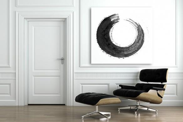 Tableau peinture design Révolution
