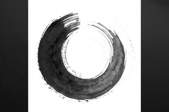 cercle concentrique aquarelle Révolution kandinsky