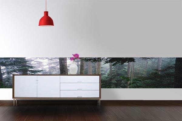 papier peint mural for t izoa. Black Bedroom Furniture Sets. Home Design Ideas