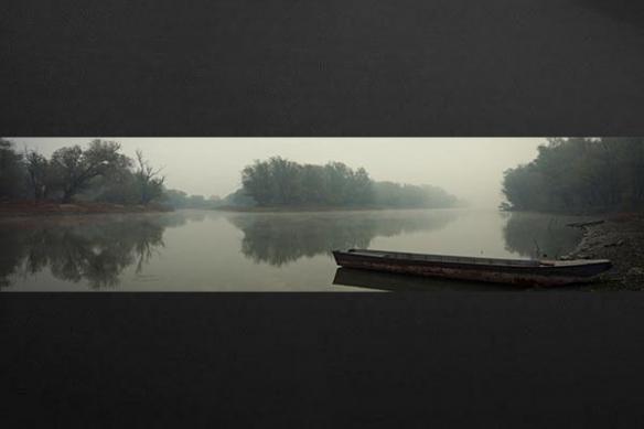 Papier peint mur confluence fleuves