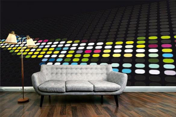 Papier Pient décoration abtsrait de couleur