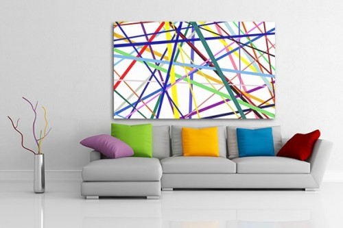 tableau abstrait vente de tableaux abstraits pop art d coration murale izoa. Black Bedroom Furniture Sets. Home Design Ideas