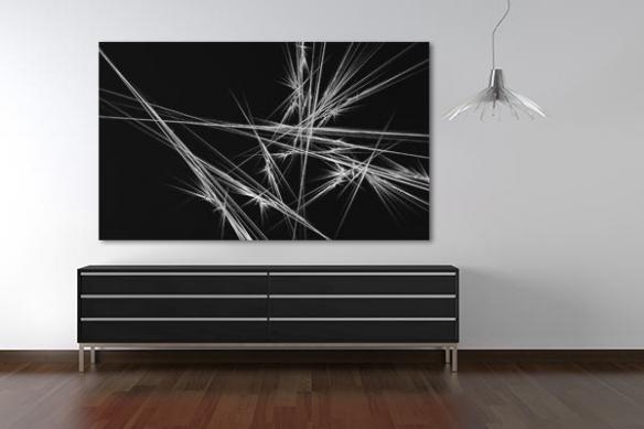 Tableau abstrait contemporain Eclat de lumière