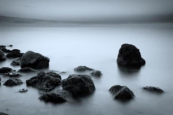 plage zen épuré Eau Paisible