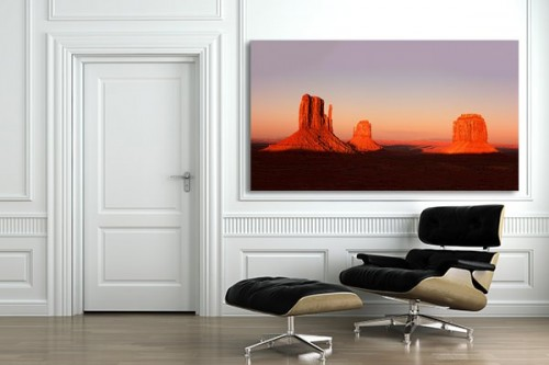 D coration murale monument valley izoa for Decoration murale zara home