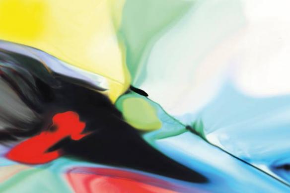 Papier peint coloré Elara