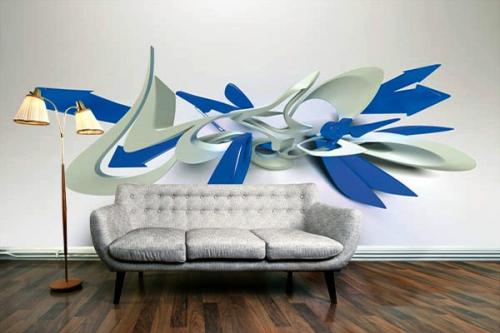 Papier Peint déco Graffe