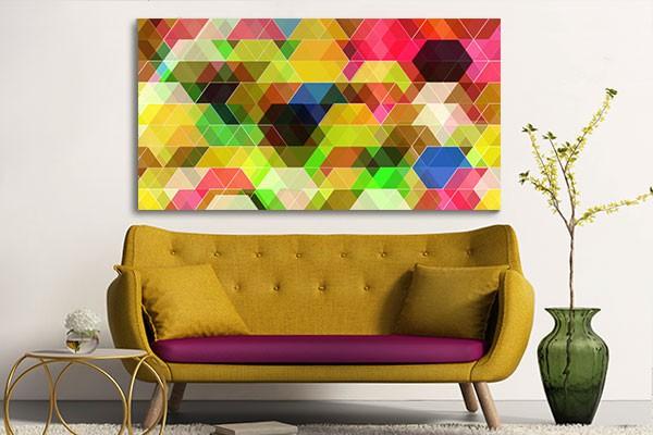 tableau moderne geometrix