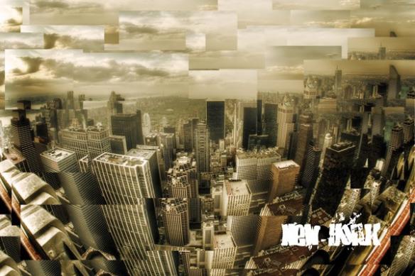 Papier peint New York à la vitesse de NYC