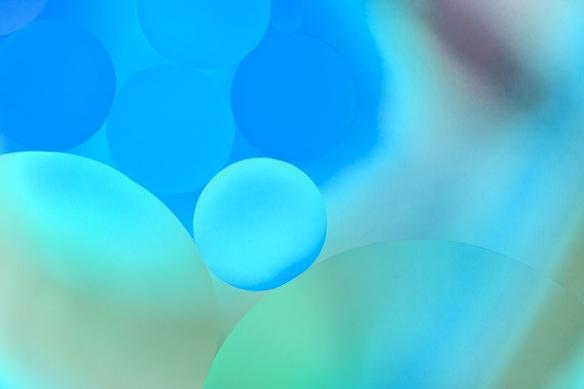 izoa goutelettes bleu