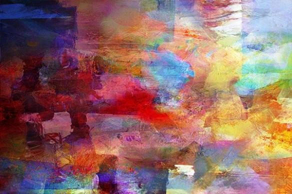 tache de peinture coloré