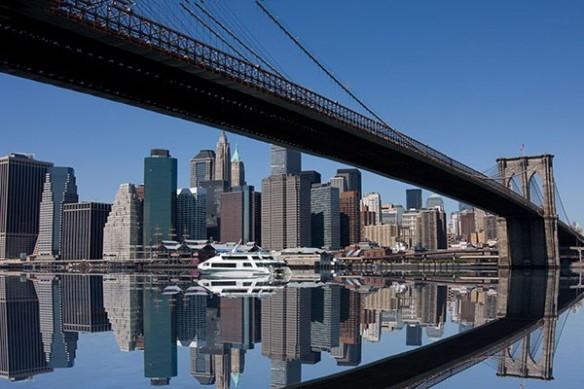 toile reflet Manhattan