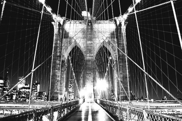 Décoration ville pont romantique