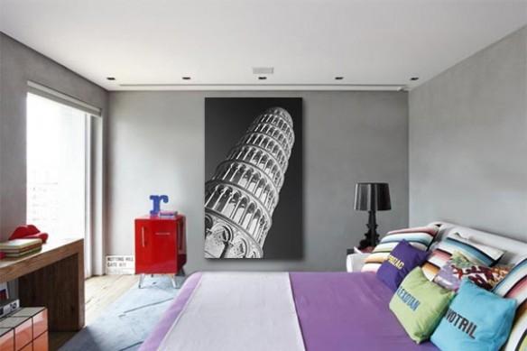Tableau contemporain Pisa