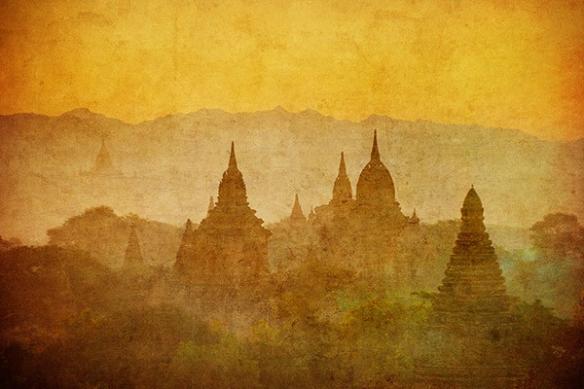 temples birmans Myanmar