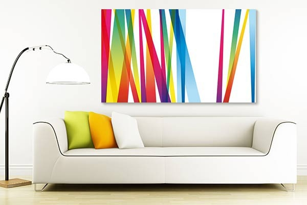 tableau lignes abstraites. Black Bedroom Furniture Sets. Home Design Ideas