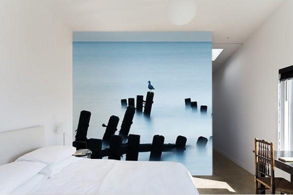 Papier peint décoration murale Mouette
